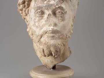 Portrait head of the Emperor Marcus Aurelius