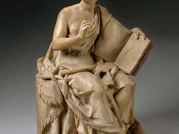 Allegorical figure of Historia