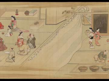 Genre Scenes in Edo in the Four Seasons