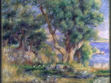 Landscape on the Coast, near Menton