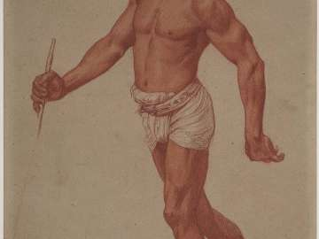 Study of Man in Turban and Loincloth