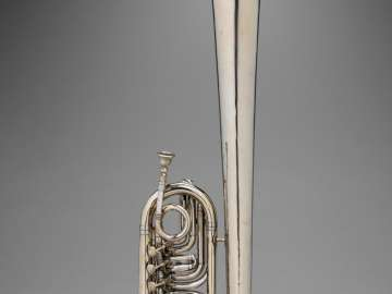 Bass tuba in B-flat (over-shoulder form)