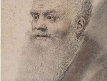 Portrait of an Old Man with long beard