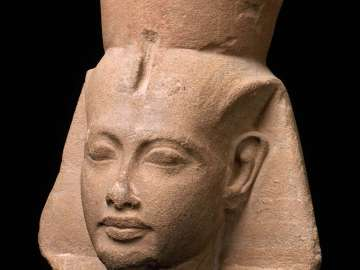 Head of King Tutankhamen