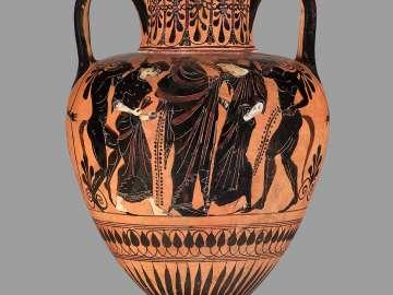 Two-handled jar (amphora)