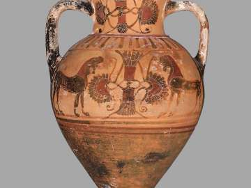 Two-handled jar (amphora)