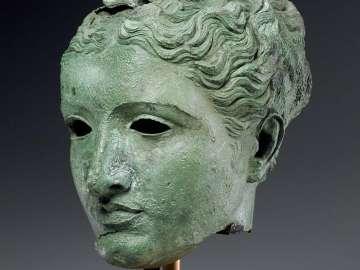 Head of a goddess or queen