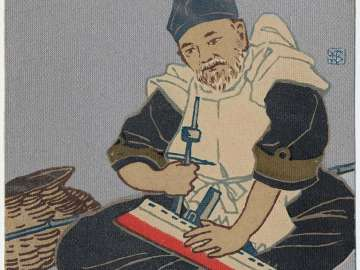 Admiral Togo Heihachiro as Ebisu from the series Seven Gods of Fortune