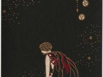 Woman Looking Out from the series Flowers of Darkness (Yami no hana)