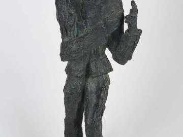 Maquette of Van Gogh as Predicateur
