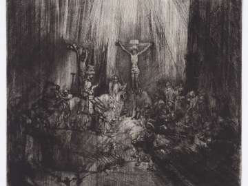 Christ Crucified Between the Two Thieves (