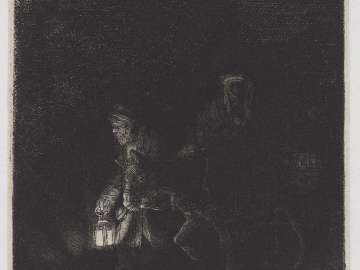 The Flight into Egypt (a night piece)