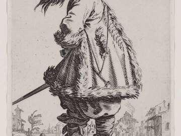 A Gentleman in a Fur-Trimmed Cloak