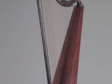 Hook harp