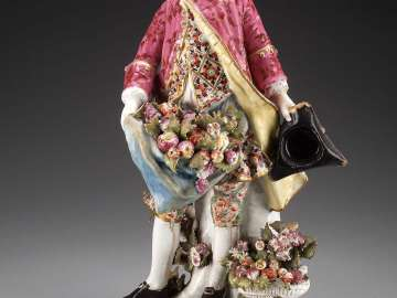 Figure of a man with fruit (Autumn)