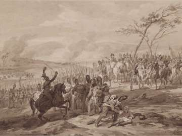 Napoleonic Campaigns: Battle of Ahensberg