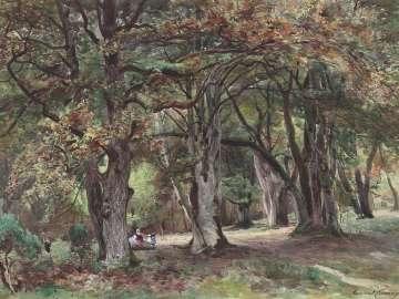 Le Dormoir du Nid de l'Aigle, Fontainebleau