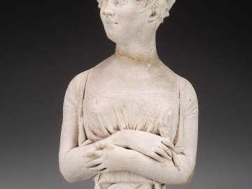 Portrait bust of a Woman Artist