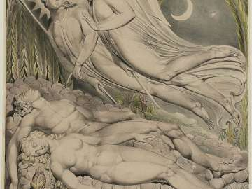 Adam and Eve Sleeping (Illustration to Milton's