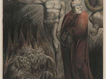 Lucifer and the Pope in Hell (The King of Babylon)