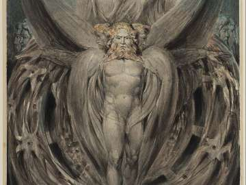 The Whirlwind: Ezekiel's Vision of the Cherubim and Eyed Wheels (Illustration to the Old Testament, Ezekiel I 4–28)