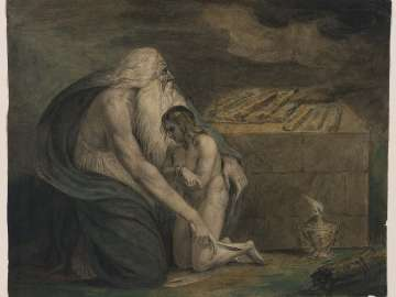 Abraham Preparing to Sacrifice Isaac (Genesis, XXII, 9–12)