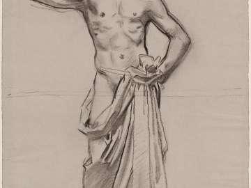 Apollo and the Muses - Apollo - (MFA Rotunda)