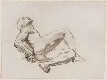 Sketch for Prometheus; Various sketches: figures within circles (verso)