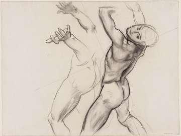Sketch for Ganymede (MFA Rotunda)