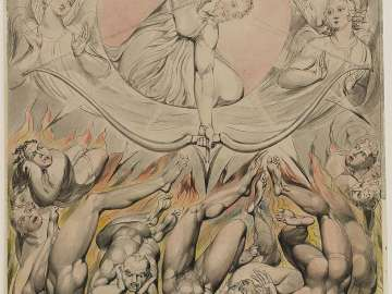 The Casting of the Rebel Angels into Hell (Illustration to Milton's