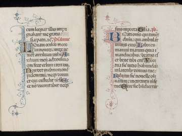 Book of Hours (Hours of the Virgin, Use of Rome)