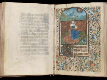Book of Hours (Use of Lisieux, for female patron)