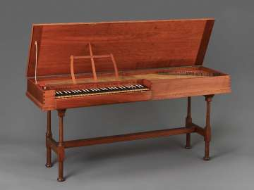 Clavichord (after Christian Gotthelf Hoffman, 1784)