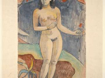 Standing Nude Woman (Te nave nave fenua) (Delightful Land)