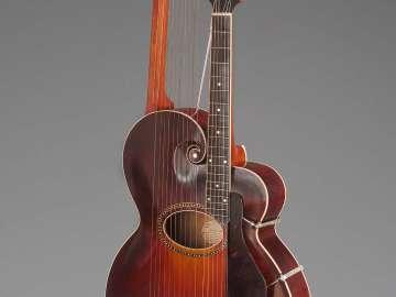 Harp guitar (style U)