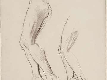 Sketch for Dancing Figures - Central Figure - (MFA Rotunda)