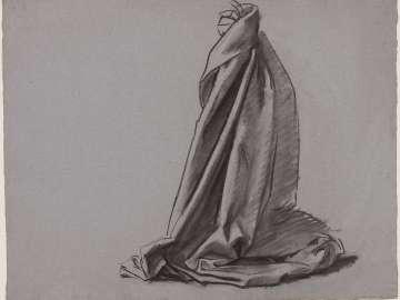 Sketch for the Joyful Mysteries - Gabriel - Boston Public Library Murals