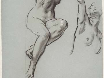 Sketch for the Joyful Mysteries - Eve- Boston Public Library Murals