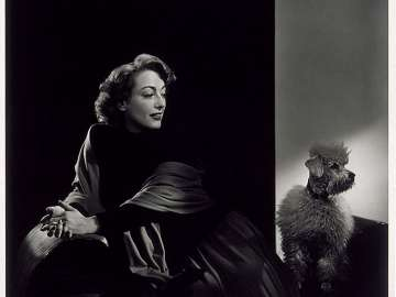 Joan Crawford (with poodle)
