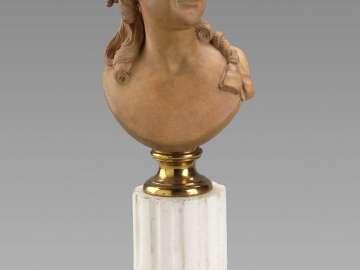 Portrait bust of Marie-Anne Botot d'Angeville