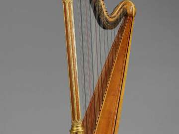 Pedal harp (Gothic model)