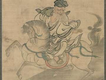 Huangshi Gong on Horseback