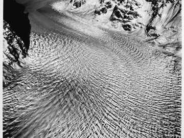 Crevasses, Ruth Icefall, Alaska
