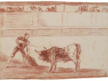 Pedro Romero Killing a Bull that He Has Subdued.  