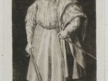 The Buffoon Cristobal de Castañeda y Pernia, called Barbarroja (Red Beard)