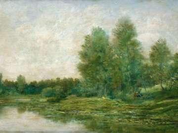Riverbank in Spring
