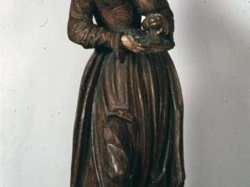Figure of Saint Barbara
