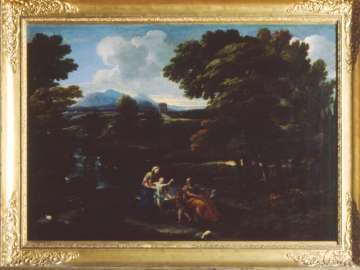 Landscape with the Holy Family and the Infant Saint John the Baptist