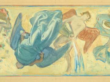 Museum of Fine Arts Mural Study: The Winds I