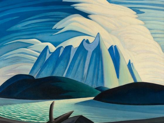Lawren Harris, Lake and Mountains, 1928